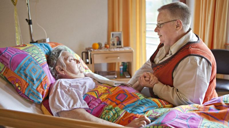 Palliative Begleitung im Simeonsstift, Johanneswerk Vlotho